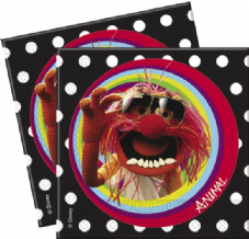20 The Muppets Theme Paper Party Napkins